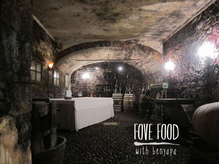 Winery ที่เบนไปดูที่เมือง Treviso มีการผลิตแบบดังเดิม ในห้องใต้ดิน วิธีการเดียวกับการผลิต Champagne